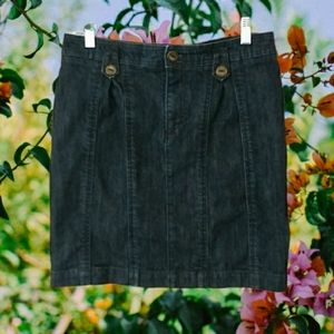 Pilcro and the Letterpress Anthro Denim Skirts 28